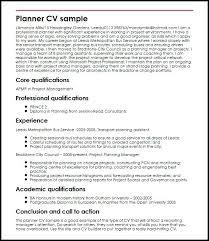 Planning Manager Resume Sample Event Planner Free Resume Samples