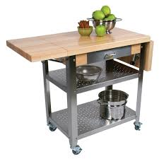 leaf kitchen cart: boos blocks cuce cucina elegante kitchen cart maple edge grain top with  drop leaf