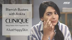 How To Get Rid Of <b>Acne Marks</b> And <b>Blemishes</b> Ft. Ankita | <b>Clinique</b> ...