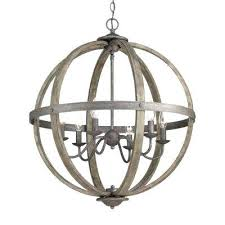 bronze orb chandelier collection 6 light artisan iron with elm wood accents large bronze orb chandelier collection 6 light metal