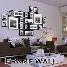 office wall frames. 20pcs black picture photo frames wall set home office creative decor t