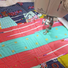 FREE MOTION QUILTING- Video Tutorial Series: Video #1 - Crafty Gemini & free motion quilting on JUKI TL-2010Q sewing machine Adamdwight.com
