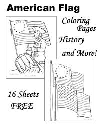 Small Picture American flag coloring pages history of the American flag and