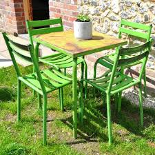 lime green patio furniture. outdoor furniture lime green vintage french cafe table chairs garden home outside style patio n