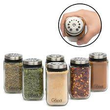 ball 9 count 24 ounce wide mouth jars with lids and bands. 6 pcs adjustable glass spice jars seasoning shaker rub container kitchen tins ball 9 count 24 ounce wide mouth with lids and bands p