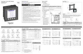 powerlogic power meter pm installation guide
