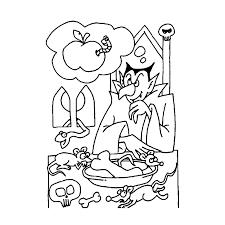 Leuk Voor Kids Vampier Aan Tafel