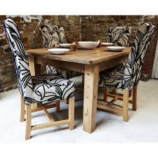 Patterned Dining Chairs Classy Buy Harlequin Fabric Dining Set Four Chair Set Dining Room Chairs