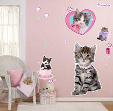 rachaelhale glamour cats giant wall decals  birthdayexpresscom
