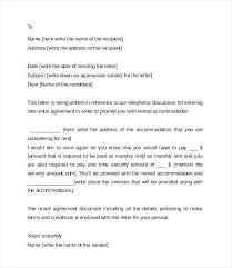 sample rental agreement letter rent agreement letter aimcoach me