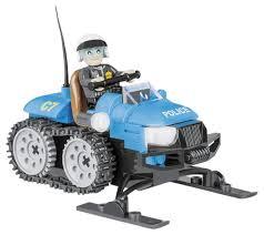 Купить <b>конструктор</b> пластиковый <b>COBI Полицейский снегоход</b> ...