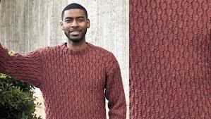 Men's Sweater Patterns Fascinating FREE Cascade Men's Sweater Pattern LoveKnitting Blog