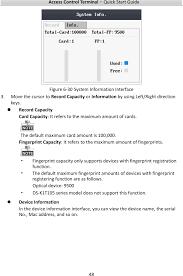 k1e fingerprint access control terminal user manual hangzhou page 56 of k1e fingerprint access control terminal user manual hangzhou hikvision digital technology co