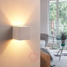 Naar Boven En Onder Stralende Led Gipslamp Kay Lampen24nl