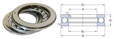 Thrust Bearing Size Chart 51104 Skf Single Direction Thrust Ball Bearing 20x35x10mm