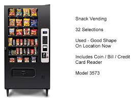 Snack Vending Machines For Sale Used Impressive Used Vending Machines For Sale