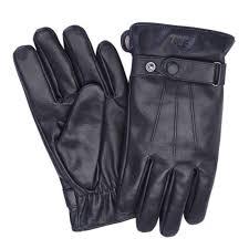 premium lambskin men s large black leather touchscreen gloves