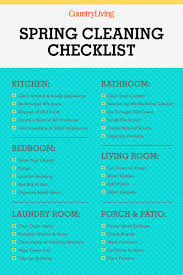 spring cleaning checklist tips how to spring clean