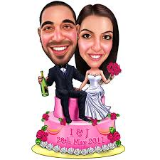 couples caricature