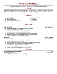 Legal Specialist Sample Resume Templates Medical Claims Specialist Sample Job Description Best 12