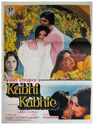 Romantic Movie Poster Kabhi Kabhie