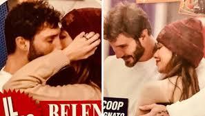 Belen Rodriguez e Stefano De Martino: scatta il bacio. È ancora amore