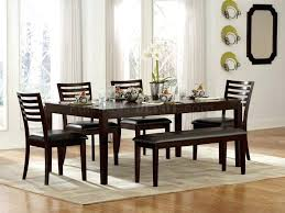 exclusive dining room furniture. Espresso Dining Table Set Furniture With Bench Luxury Finish Modern 5 Piece And Exclusive Room M