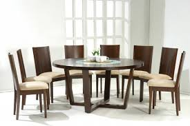 dining room modern round sets  del
