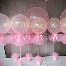 baby shower balloon centerpieces picture