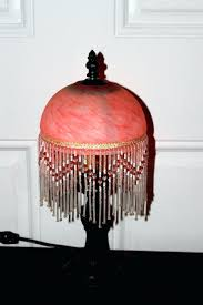 beaded lamp shade how to make chandelier shades for table lamps