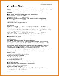 Template Internship Sample Resume Template No Experience Malaysia Cv
