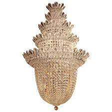 schonbek crystal chandelier from the trilliane collection for