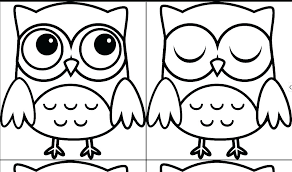 Owl Coloring Pages Zu9x Cute Owl Coloring Pages Free Page Color Best