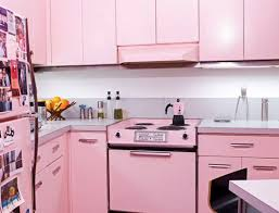 Light Pink Kitchen Modern Pink Kitchen Sunken Log Rack Light Fixtures And Dark