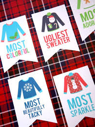Ugly Sweater Christmas Party Awards. Office Christmas Party GamesChristmas  ...