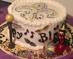 New Orleans Themed Birthday Cake Cakecentralcom
