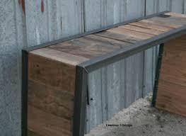 modern reclaimed furniture. image is loading consoletablesofatablemidcenturyreclaimedwood modern reclaimed furniture