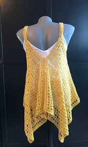 Crochet Tank Top Pattern Gorgeous Ravelry Kanata Kerchief Tank Pattern By Jennifer Ozses