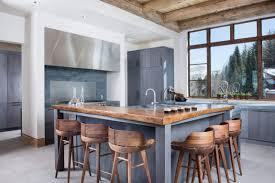 Bar Kitchen Modern Bar Stoolskitchen Island With Seating Butcher Block Kitchen