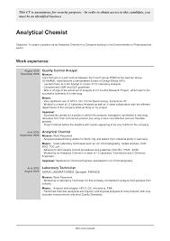 Cover Letter Job Description Chemist Textile Chemist Job