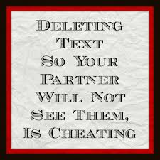 Is your partner or spouse deleting text so you don t see.