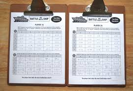 battle my math ship game for grades 6 12 the most engaging partner activity