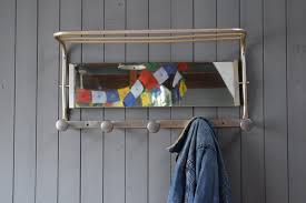 Wall Mounted Coat Rack Mirror Furniture Coat Rack With Baskets Vertical Wall Mounted Coat Rack 80