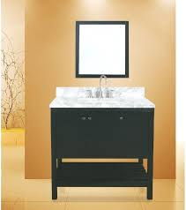 bay bathroom vanity set absolute black hampton cabinets collection