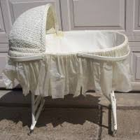 furniture vintage baby bassinets set with iron bassinet base and small wheels movable also bamboo adorable nursery furniture white accents