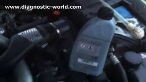 One liter of correct power steering fluid. Mercedes E Class W211 Power Steering Top Up Fluid Type Youtube