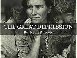 the great depression by ryanruccolo the great depression