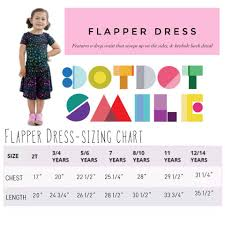 Dot Dot Smile Size Chart Dot Dot Smile Flapper Dress Sizing And Styling Direct