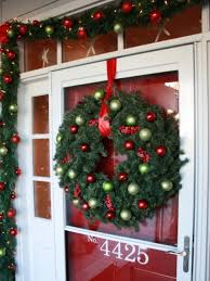 Front Door Decorating 7 Front Door Christmas Decorating Ideas Hgtv