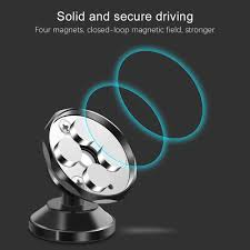 <b>OLAF Universal Magnetic</b> Car Phone <b>Holder</b> 360 Rotation Bracket ...